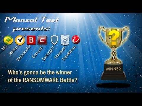 [Battle Test] Final Battle Antivirus vs Ransomware