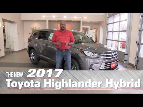 All-New 2017 Toyota Highlander Hybrid Limited Platinum - Mpls, St Paul, Brooklyn Center, MN - Review