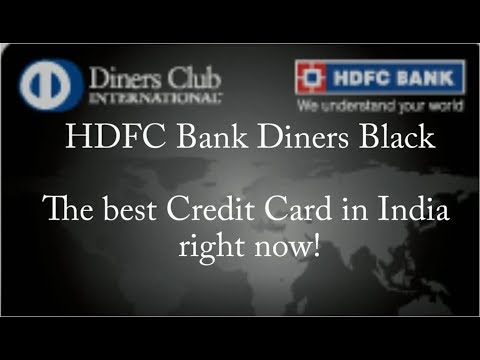 HDFC Diners Black - Best Credit Card in India
