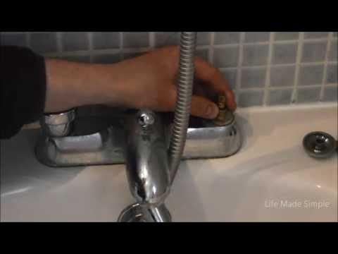 Fixing a bath tap