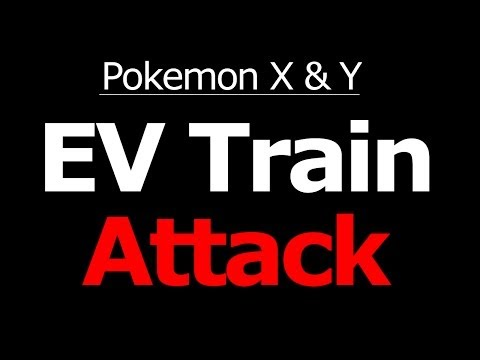 Where to EV Train Attack (Atk) in Pokemon X and Y Horde Battle