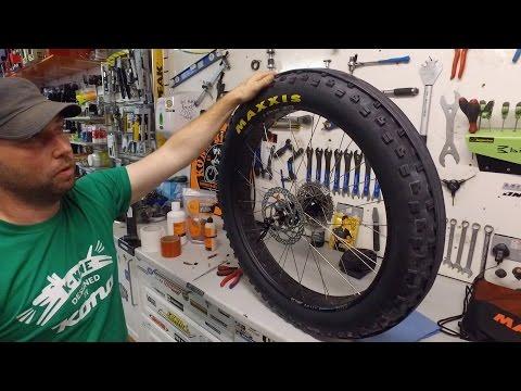 How to Set Up Tubeless Fatbike Wheels