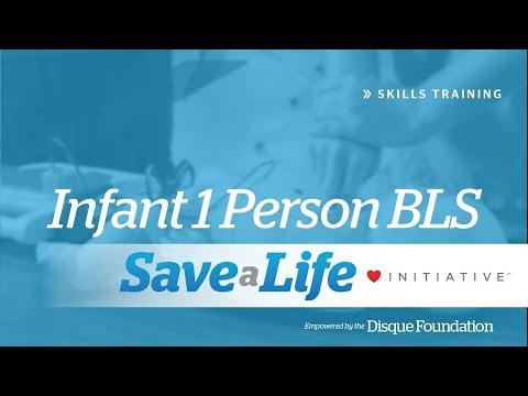 Infant 1 Person BLS