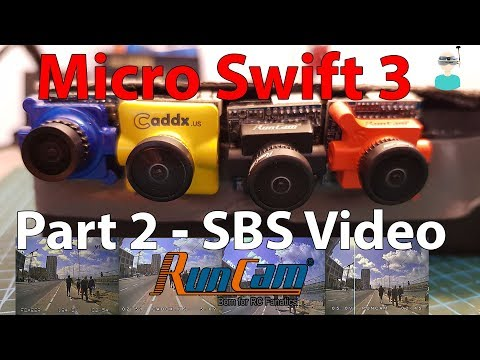 Runcam Micro Swift 3 - Side By Side Comparison