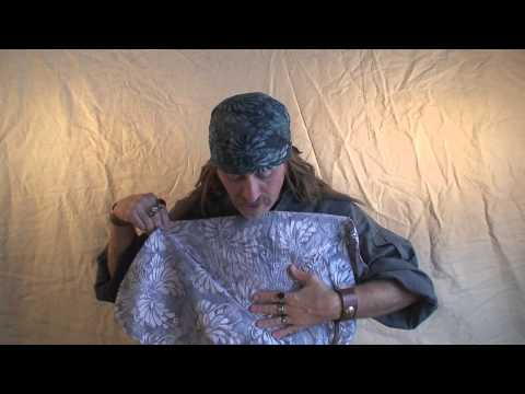 How to Tie a Pirate Head Scarf