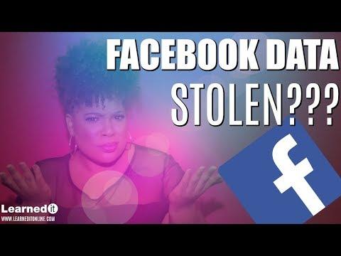 Facebook Data Stolen?  Check if Your Data was Stolen | App & Website Security (Cambridge Analytica)