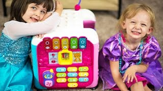 Elsa & Princess Rapunzel Dress Up & VTECH Alphabet Activity Cube Baby Toys Review Kinder Playtime | Today on Kinder Playtime, the girls are dressing up like Queen Elsa & Princess Rapunzel to make a royal review of the VTECH Alphabet Activity Cube made exclusively for babies! Emily picks Queen Elsa to dress up like and Chloe picks Princess Rapunzel! We love VTECH