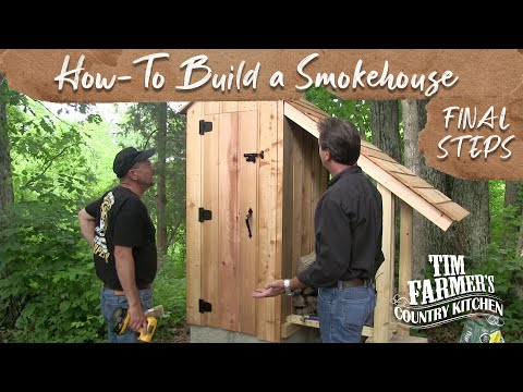 How to Build a Smokehouse (FINAL STEPS)