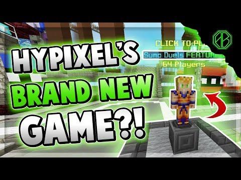 HYPIXEL'S BRAND NEW GAMEMODE! ( Hypixel Sumo )
