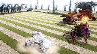 Alpha King Titan VS Rockwell in Rockwell Arena | Ark Battle