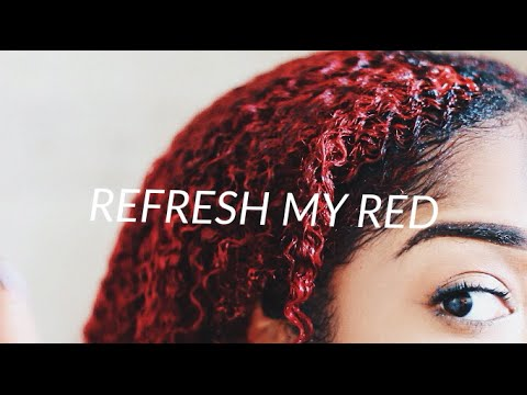 HOW I REFRESH MY RED | HAIR COLOR