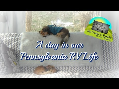 A day in our PA RV Life