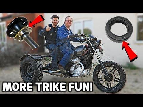 Making Progress on My Dads Trike!