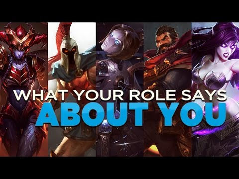 What Your League of Legends Role Says About You