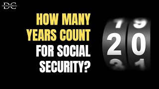 Computation Years: Social Security Benefits Calculation