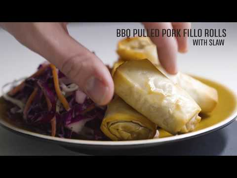 Intros® Hors D'oeuvres with Culinary Secrets Mayo   BBQ Pork Slaw Original