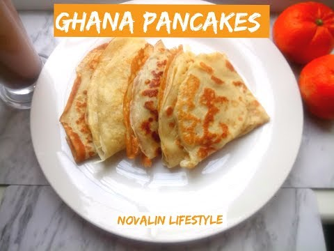 HOW TO MAKE PERFECT GHANAIAN 🇬🇭 PANCAKES 🥞 - HOME-MADE FLUFFY PANCAKES RECIPE