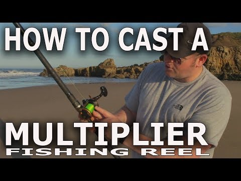 How to Cast a Multiplier Fishing Reel for Beginners.