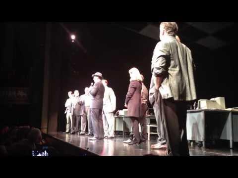 Tom Hanks live on stage,
