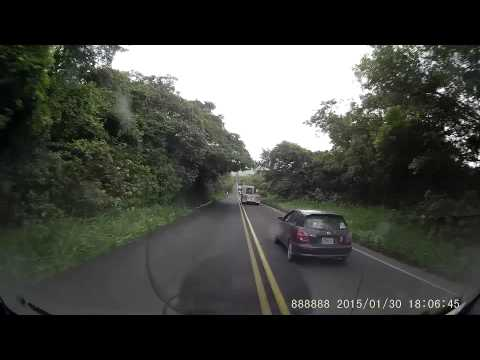 Driving from Belize through Mexico
