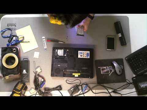 HP Compaq NC6400 Hard Drive Removal Upgrade