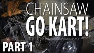 Homemade go-kart with a simple manual clutch system - Sylvester