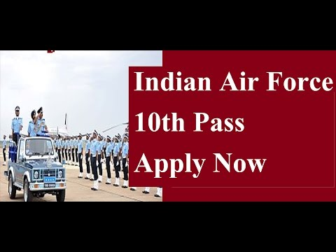 10th pass Vacancy in Indian Air Force | Apply Now