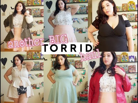♡ Another BIG Torrid Try On Haul ♡