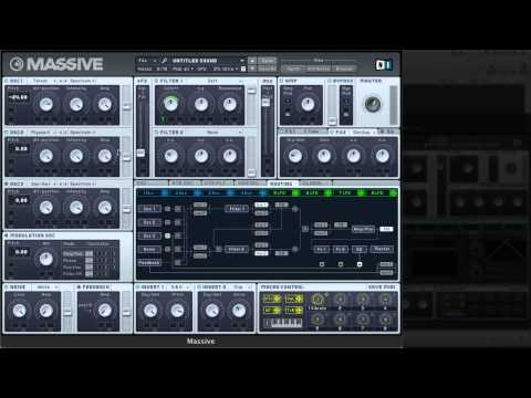 How to make Doctor P Flux Pavillion Dubstep Synth Massive