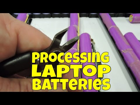 How to capacity test an 18650 cell out of a laptop battery pack