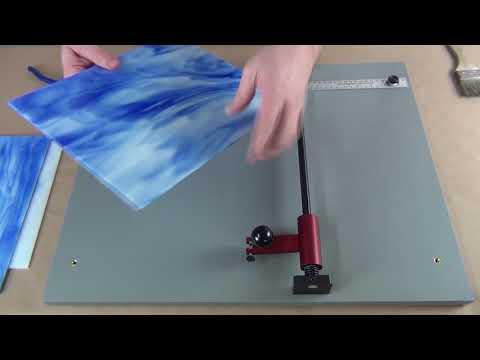 Portable Glass Cutter - Demo