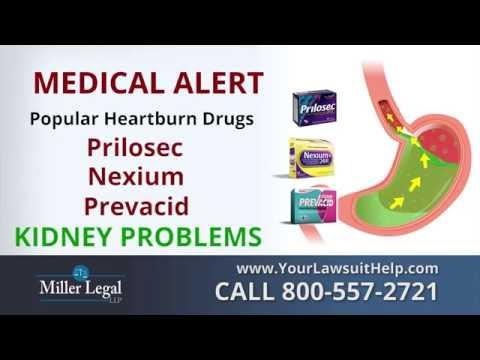 PPI Lawsuit | Prilosec, Nexium or Prevacid Lawyer