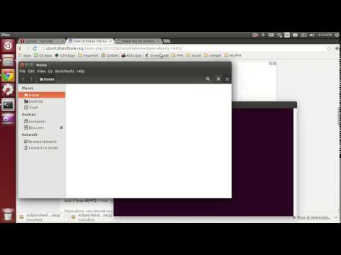 install latest eclipse and create a launcher in ubuntu 14.04