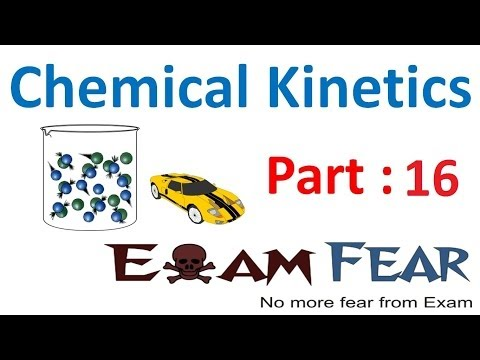 Chemistry Chemical Kinetics part 16 (Pseudo first order reaction) CBSE class 12 XII