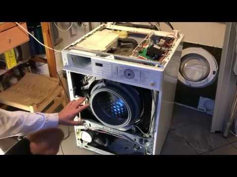 Miele washing machine.   Motor will not run.