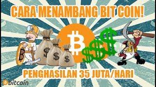 INI DIA!! 3 website Menambang Bitcoin Tercepat 2017!! | Profit lebih Besar