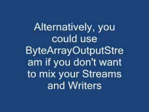 Read/convert an InputStream to a String