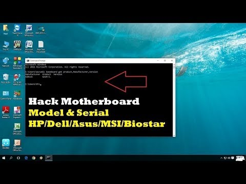 How to check Motherboard Model Version with cmd in windows 7, 8.1, 10