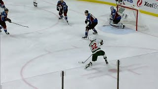 Wild's Niederreiter ties game versus Avalanche after feed from Koivu