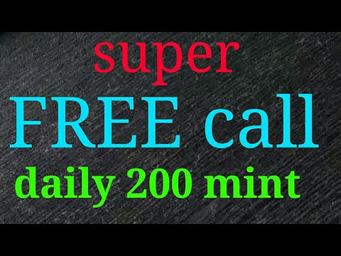 Daily 200  minute free call anywhere world