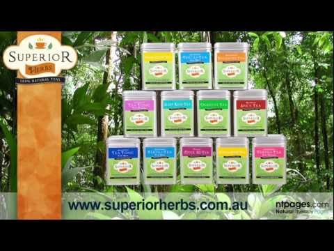 Superior Herbs - Fertility and Wellbeing Teas