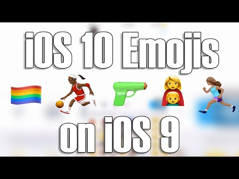 How to get iOS 10 Beta Emojis on Jailbroken iOS 9.2+