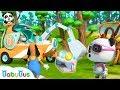 Super Panda Saves Surprise Eggs Super Rescue Team Panda Cartoon Ice Cream Hamburger BabyBus