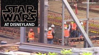 Disneyland - 9/20/17 Star Wars: Galaxy's Edge Construction Update