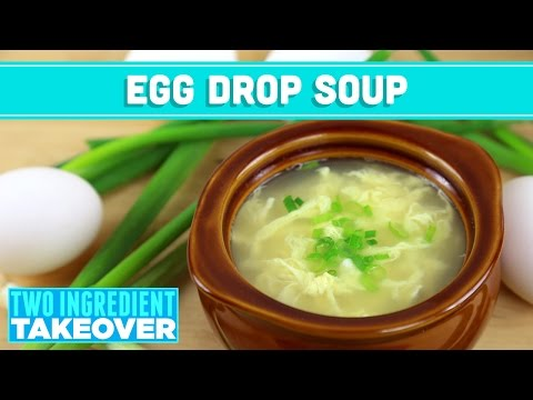 Easy Egg Drop Soup! 2 Ingredient Takeover - Mind Over Munch