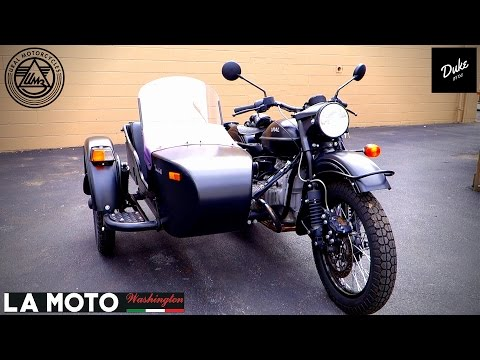 MOTORCYCLE SIDECAR?! | Ural First Ride & Review
