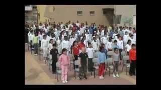#x202b;תלמידי בית הספר עש אלי כהן בריקוד לקראת פסח אחד מי יודע#x202c;lrm;