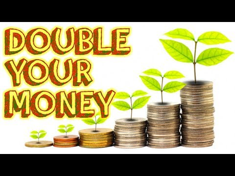 how to double your money  with just 5min