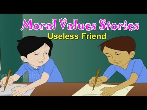 Moral Values in Hindi for Kids | Bad Friend | Moral Lessons For Children | Moral Values Stories