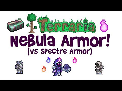 Terraria Nebula Armor! (vs Spectre Armor, Best Mage Set, How to Make/Craft)